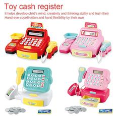 Pretend Play, intelligenttoy, cashregistertoy, cashregister