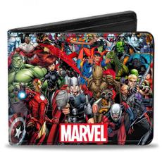 Wallet, black, Adult, Marvel