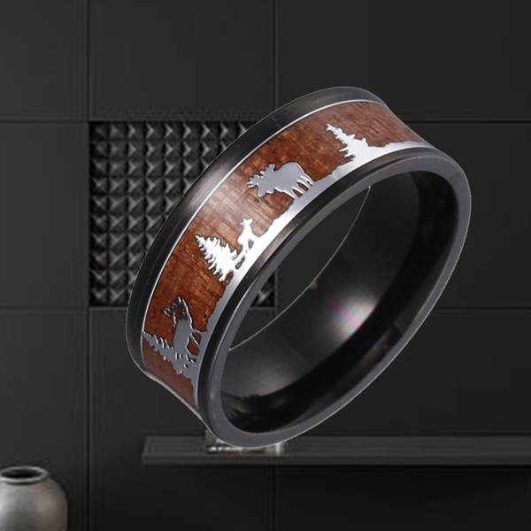 tungstenring, silhouette, Jewelry, Hunting