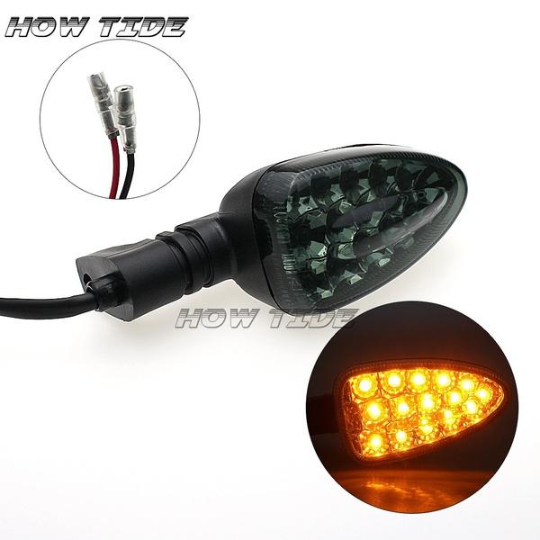 led, Motorcycle, colorblackwhite, lights
