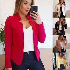 Moda, Blazer, Office, Long sleeved