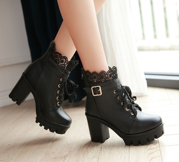 Plus Size, Winter, Womens Shoes, leather