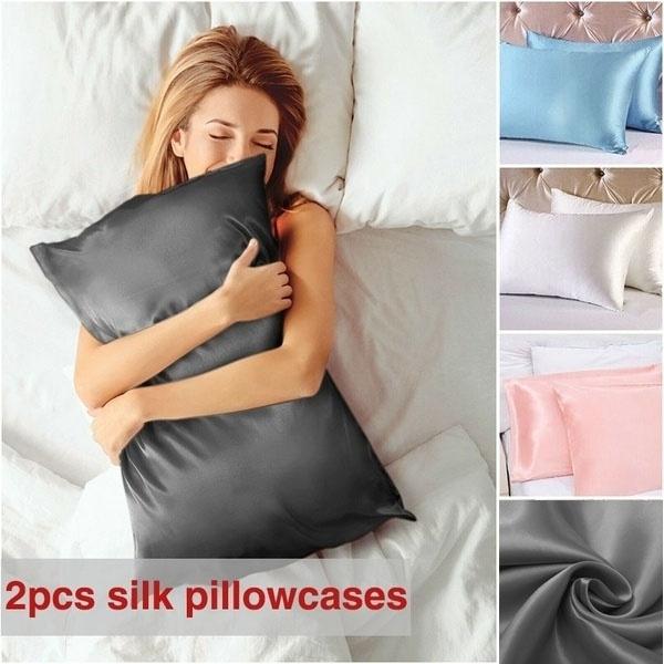 silkpillowcase, Pillow Shams, satinpillowcase, Pillowcases