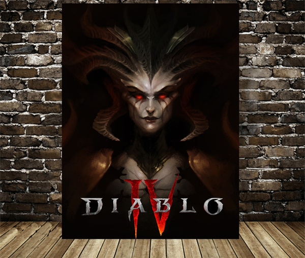 diablogameposter, diabloivlilith, Gifts, canvaspainting