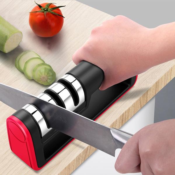 Steel, Stainless, Kitchen & Dining, householdsharpener