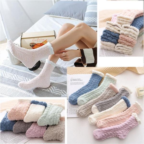 wintersock, Fleece, velvet, Winter