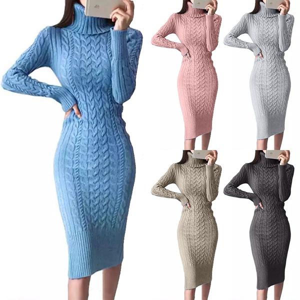 autumnwinter, Women Sweater, sweater dress, Winter