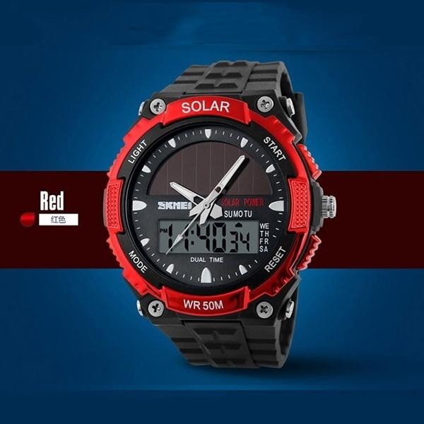 LED Watch, multifunctiowatch, Fashion, Solar