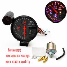 oilpressuremeter, lights, automobiletachometer, water