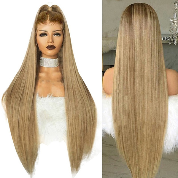wig, flaxenhair, Fiber, fashion wig
