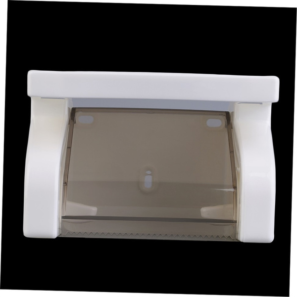 Box, paperrollholder, wallmounted, tissueholder