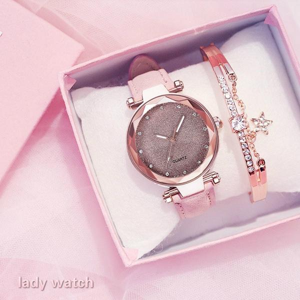 starrysky, Simple, wristwatch, Dress