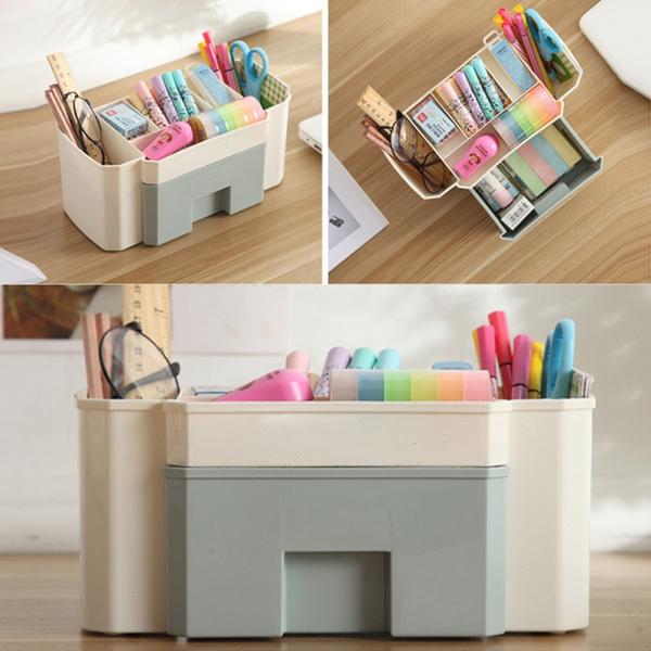 Box, Beauty, makeupstoragebox, brushpenholder