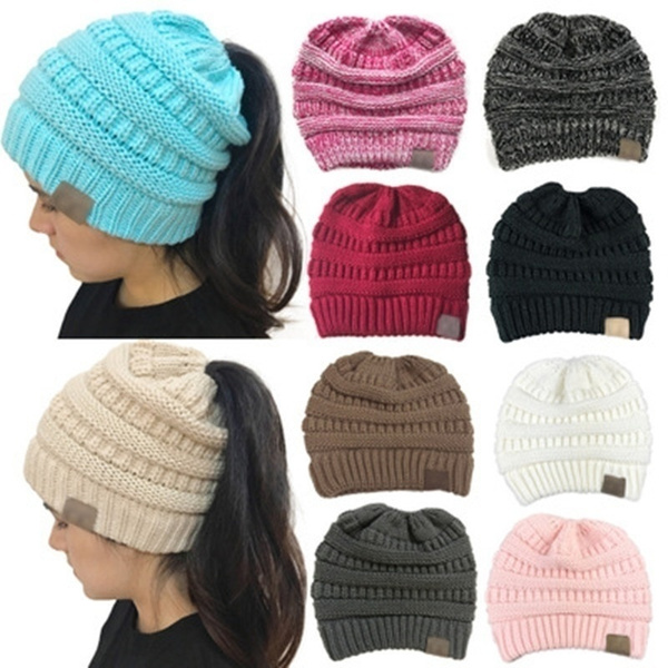 Warm Hat, Beanie, Fashion, messybunhat