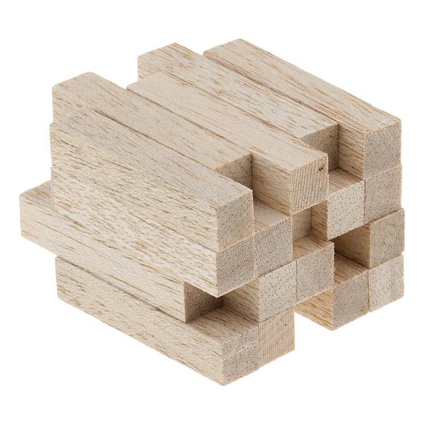 Wood, Square, Natural, balsawood