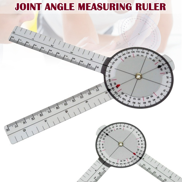 13 Inch 33cm Calibrated Goniometer Medical Joint Ruler 360 Degrees Range Tool Wish To convert a centimeter measurement to an inch measurement, use a simple formula. wish