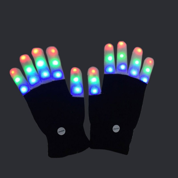 Toy, led, Handschoenen, fingertoyshelf