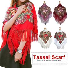 Tassels, Fashion, tasselscarf, russianstyle
