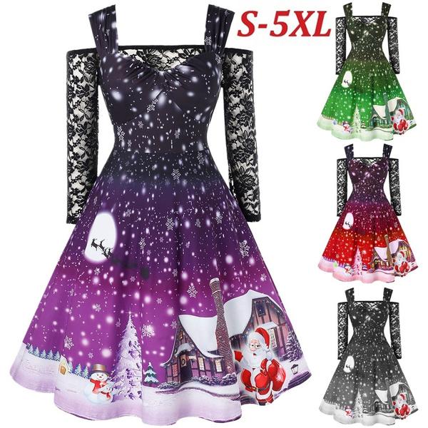 girls dress, straplessshoulderdres, Dress, Women's Fashion