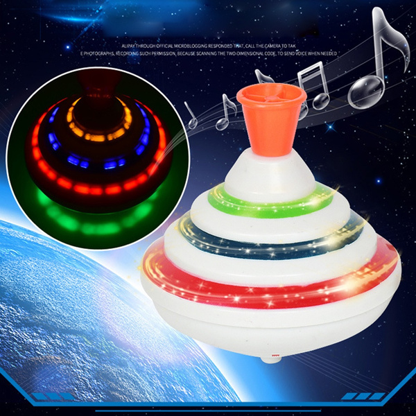 Toy, led, Electric, musicgyrospinnertoy
