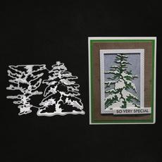 Tree, stencil, Winter, metalcuttingdie
