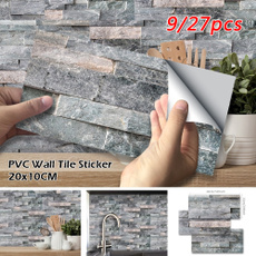 Stickers, bathroomwallpaper, Decor, wallpapersticker