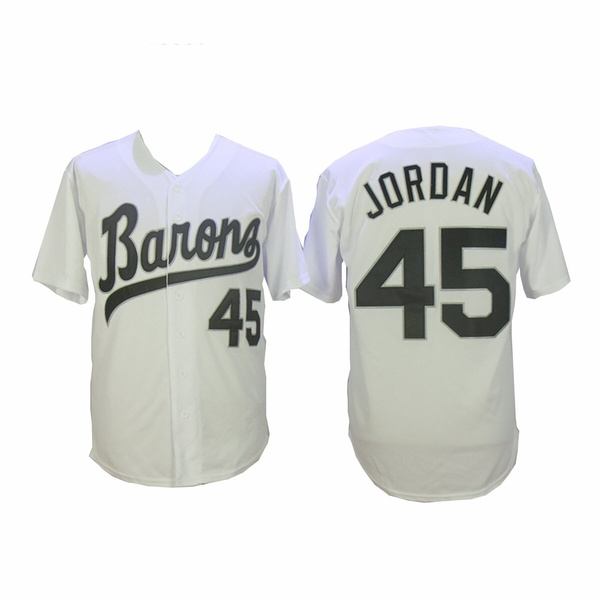 Baseball, baron, jordan, white