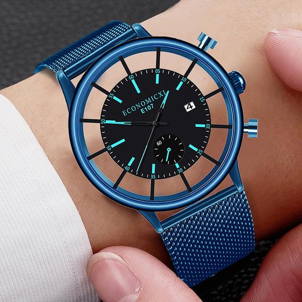 Fashion, Simple, Watch, Men