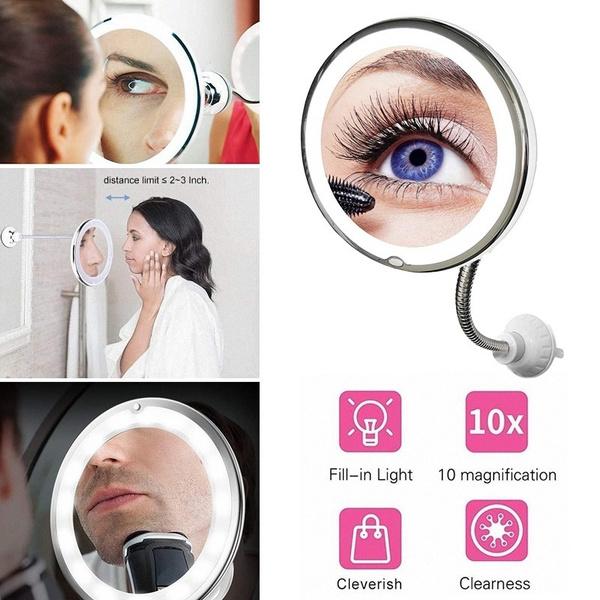 Makeup Mirrors, multifunctionmirror, Bathroom, led
