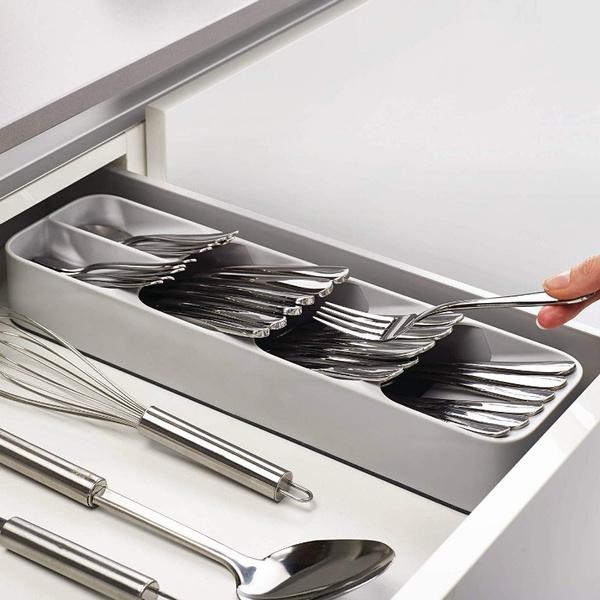 Storage Box, storagetray, kitchendrawer, knifefork