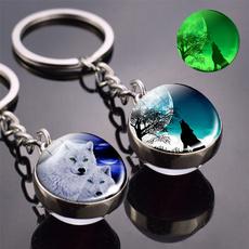 Dark, Head, Key Chain, Jewelry