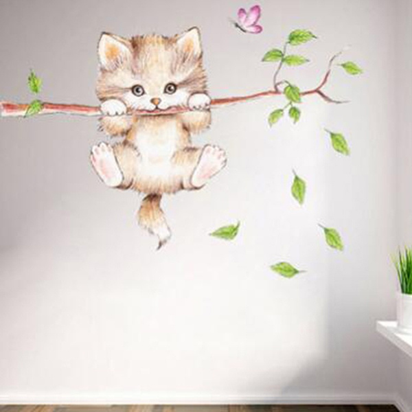 butterfly, cute, artdecal, bathroomsticker