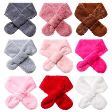 cute, Scarves, kids scarf, fur