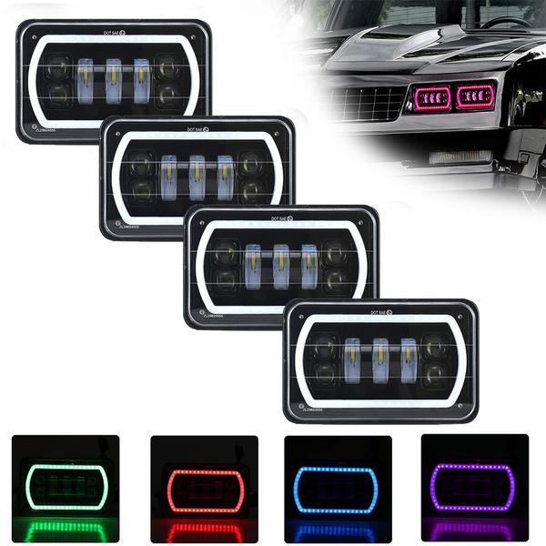 LED Headlights, led, motorheadlight, Jeep