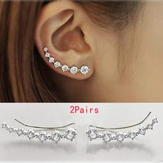 Fashion, Jewelry, Crystal Jewelry, Earring