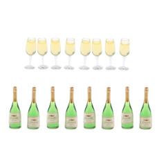 Mini, Decor, 112dollhouseaccessory, wine