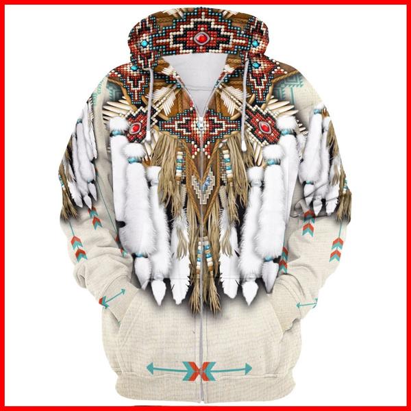 3d sweatshirt men, 3D hoodies, Fashion, nativeindian