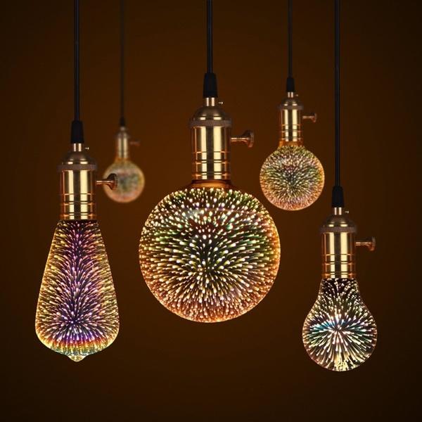 3dblub, Light Bulb, energysavinglamp, Christmas