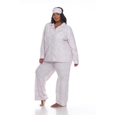 pink, Plus Size, Women's Fashion, Sleepwear