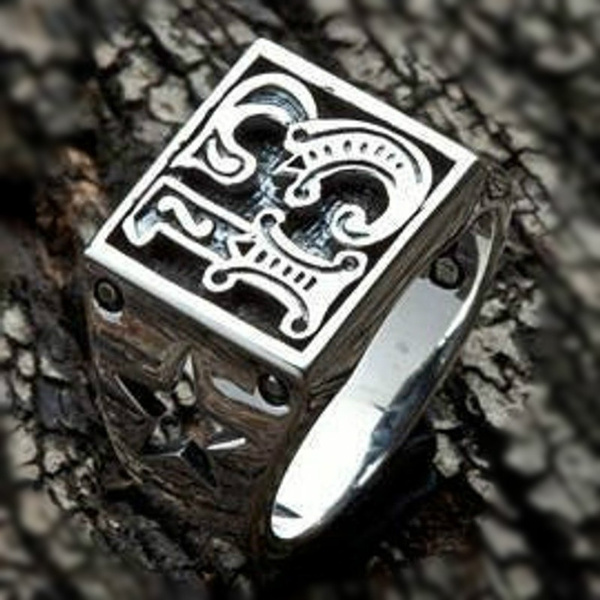 Steel, Star, Gifts For Men, Stainless steel ring