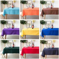 washable, Polyester, squaretablecloth, dinningtablecloth