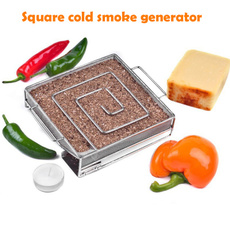 Steel, Grill, Kitchen & Dining, smokedsalmon
