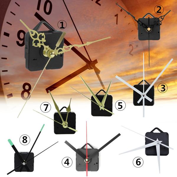 clockmovementkit, clockmechanismdiy, clockmovementquiet, Clock