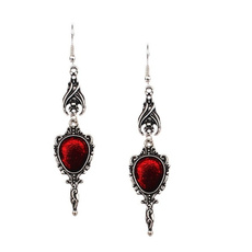 Goth, punk earring, hipsteraccessorie, bloodearring