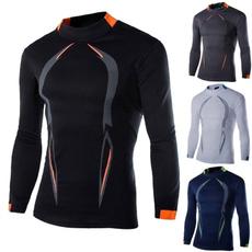 Mens T Shirt, Shirt, Fitness, mencompressionshirt