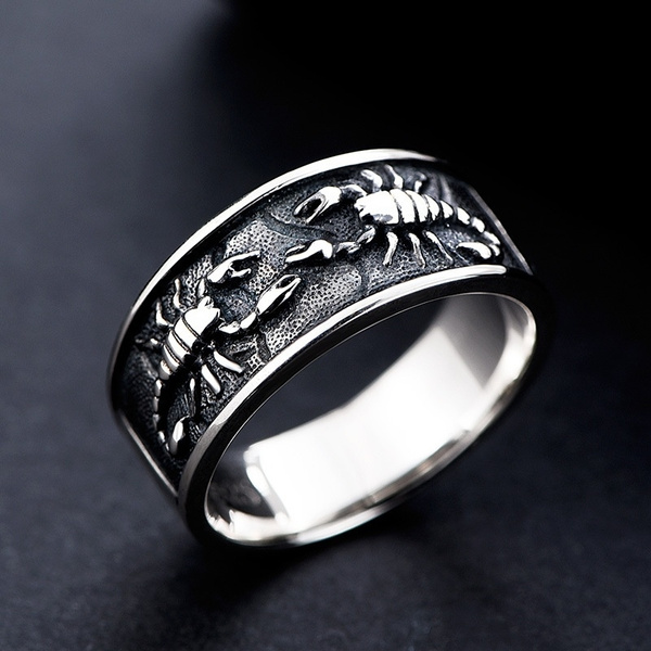 Steel, ringsformen, Stainless Steel, Men's Fashion