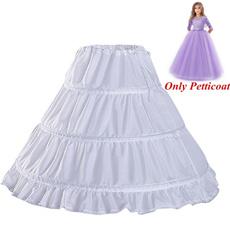 flowergirlspetticoat, Flowers, girlswhitepetticoat, underskirtpetticoat