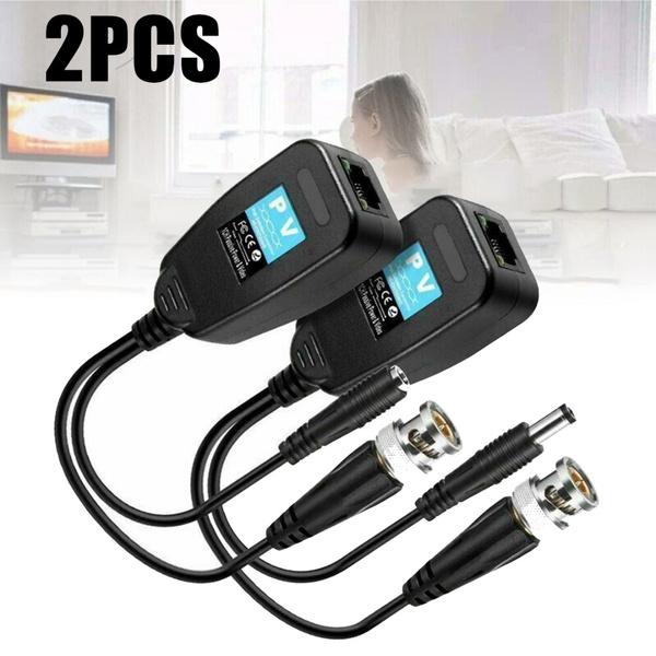 Connector, coaxialcableadapter, rj45videobalun, bncvideobalun