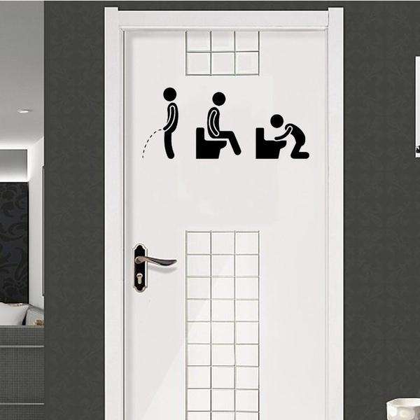 toilet, Decor, art, wcsticker