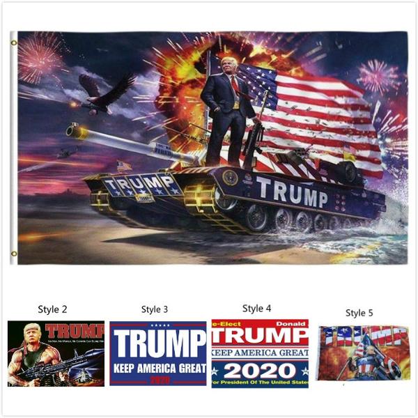 keepamericagreat, presidentflag, trumpbanner, Flag